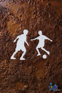Mud soccer!