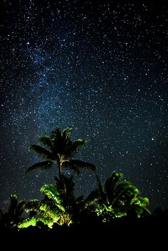 The Milky Way in Maui Hawaii