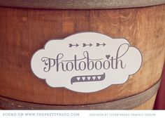 Printable wedding signs