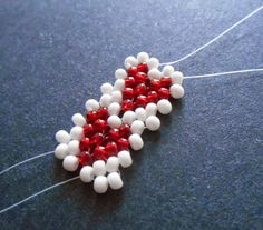 Valentine Heart Potawatomi Chain Stitch