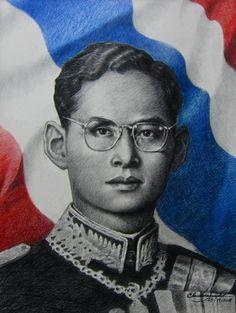 King of Thailand. My beloved King, ♥Bhumibol Adulyadej, Rama IX, the ninth monarch of the Chakri Dynasty, crowned on the 9th June 1946, is the longest ever reigning King of Thailand and the defender of the Buddhist faith in Thailand. http://www.islandinfokohsamui.com/