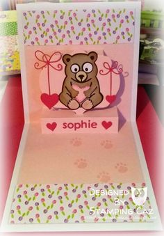 A STAMPING & CHIRPING Corner: Welcome Sophie
