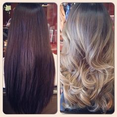 Heather Cha Styles - Irvine, CA, United States. From typical Asian hair to fabulous ash blonde ombre!!