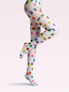 Selling original fashion tights with unique style, creative design and bright colours and patterns. Cool Tights, White Tights, Patterned Tights, Floral Tights, Pantyhose Fashion, Fashion Tights, Steampunk Fashion, Gothic Fashion, Women's Fashion