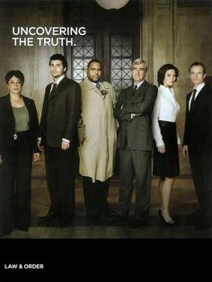 Law & Order 11x14 TV Poster (1990)