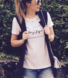 #LeleGianetti do blog usa #monymony. Confira mais detalhes na nossa #lojaonline de #camisetas!