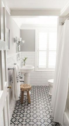 Ikea Bathroom Mat #WhiteBathroom