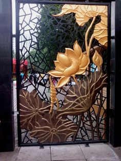 Wrought Iron Gate Classic design  hench-a6