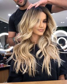 Fantastic Photos Balayage hair blonde sand Strategies Summer's on the way! As well as the ideas choose happier, brighter, a lot more attractive plus gli Love Hair, Gorgeous Hair, Biolage Hair, Brown Blonde Hair, Medium Blonde, Medium Brown, Balayage Hair, Brown Balayage, Hair Dos