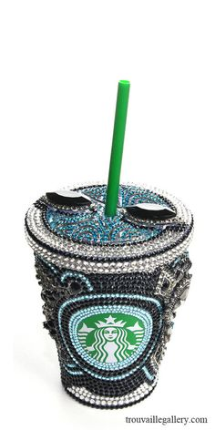 Swarovski Starbucks Cup/Mug 12oz 355ml  by TrouvailleGallery, $350.00