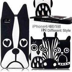 Black & white I~phone covers~