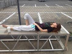 Even just napping she's freakin hot!! Haruna Ono -SCANDAL