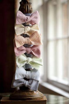 Seersucker Bow Ties by The Cordial Churchman