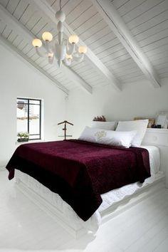 20 Dachboden Schlafzimmer Designs Effizient Unter Dachflächen