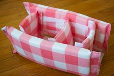 DIY camera bag inserts by peneloping, via Flickr