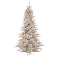 Vickerman Silver Fir Pre-lit Christmas Tree - Christmas Trees at Hayneedle