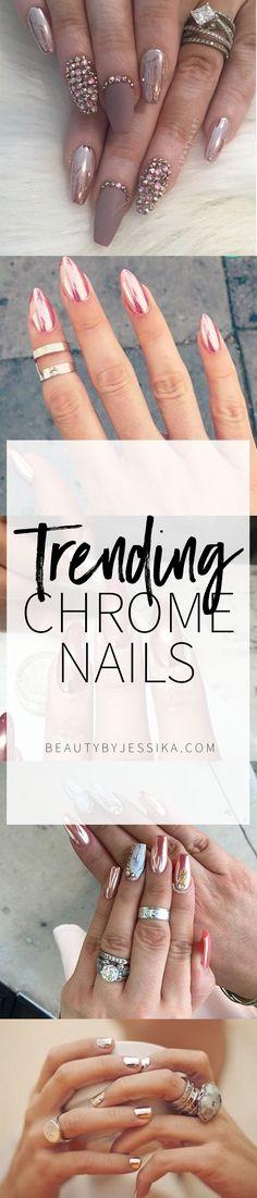 Trending / Chrome Nails More
