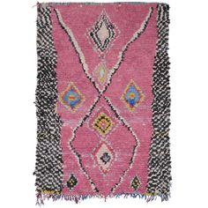 1stdibs | Pink Boucherouite Rug