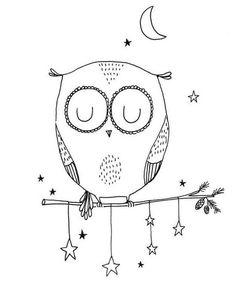 Apprendre à Dessiner Un Hibou Drawing Pinterest Hibou