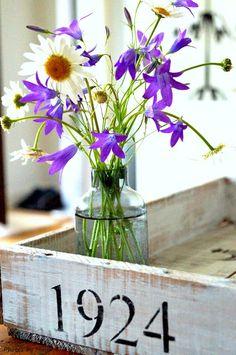 KUUNSÄTEESSÄ: Kesäinen kukkakimppu