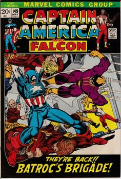 Captain America 149 May 1972 Issue  Marvel Comics  by ViewObscura