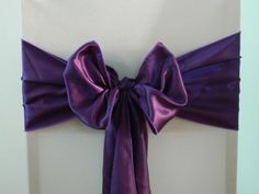 Cadbury's Purple Satin  www.blueorchid-events.com