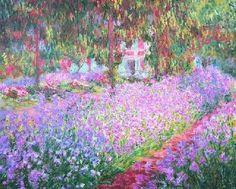 Claude-Monet - Le-jardin de Monet - Giverny
