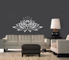 Wall Decal Indian Yoga Namaste Words Lotus Flower Buddha Ganesha Mandala Vinyl Sticker Decals Wall Decor Home Interior Design Art Mural Dear Buyers, Wall, Meditation Room, Home N Decor, Indian Decor, Wall Decor, Bedroom Decor, Interior Design Art, Home Decor, Home Deco