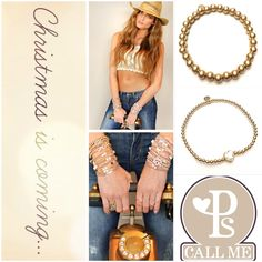 Pscallme Jewelry with pure gold...www.pscallme.nl
