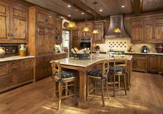 alder cabinets  | ... color are on these cabinets? Are they knotty alder cabinets - Houzz