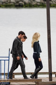 Captain Swan Family:Captain Prince   Hook,Princess Emma and Prince Harry