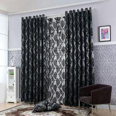 Window Curtain Panel Semi-Blackout