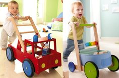 3 lovely new #haba #babywalkers have arrived at Babi Pur