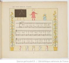 Vieilles chansons et rondes pour les petits enfants, notées avec des accompagnements faciles / par Ch. M. Widor ; Illustrations de M. Boutet de Monvel - 47