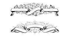 Floral Banner Shape