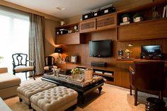 20 Home Office Pequenos na Sala - Veja Dicas e Modelos!