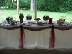 candy buffet - include bowls of Bridge Brands chocolate disks ... or displays of our custom tins for your special event
