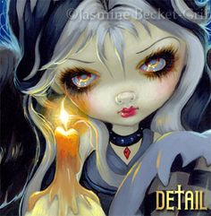Candle - Sign of Our Parting  - Gothic Fairy by Jasmine Becket-Griffith Hamilton Collection