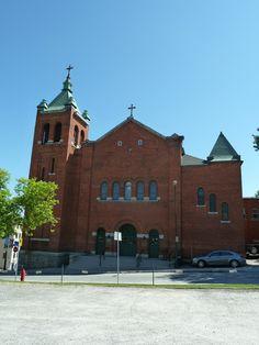 Sherbrooke (église Saint-Patrick), Québec, Canada (45.400684, -71.890904)