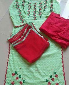 Photo by memsaab patyala couture on September Designer Punjabi Suits Patiala, Punjabi Suits Designer Boutique, Women Salwar Suit, Patiala Suit Designs, Indian Designer Suits, Kurti Designs Party Wear, Salwar Suits, Punjabi Boutique, Boutique Suits