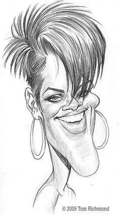 Rihanna.  Tom Richmond