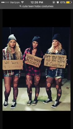 Hobo costume ideas & if creative you can totally pull of