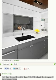 11 amazing high gloss cabinets images black kitchens kitchen rh pinterest com
