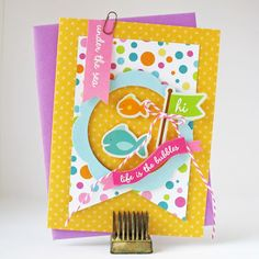 Love this simple tutorial! Made with my Party with Amy Locurto designs for @Pebbles Inc.. So cute!