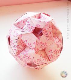 Origami Icosidodecahedron | Origami Tutorials
