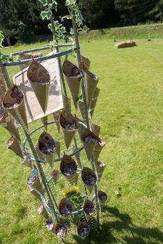 Wedding confetti cones and decorative stand Confetti Cones, Wedding Confetti, Wedding Ideas, Display, Inspiration, Wedding, Floor Space, Biblical Inspiration, Billboard