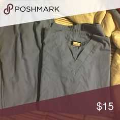 Scrub set Cherokee brand scrub top and pants in blue Cherokee Other
