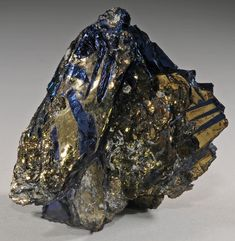 Covellite / Summitville Mine (Reynolds Tunnel; Golconda Tunnel), Rio Grande Co., Colorado