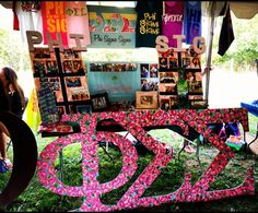 Lilly Letters and PR Boards for Juice Jam 2012 - I heart my Pi ladies :)