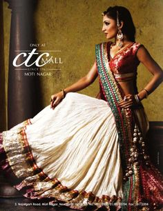 indian lengha - see more inspiration @ http://www.ModernRani.com